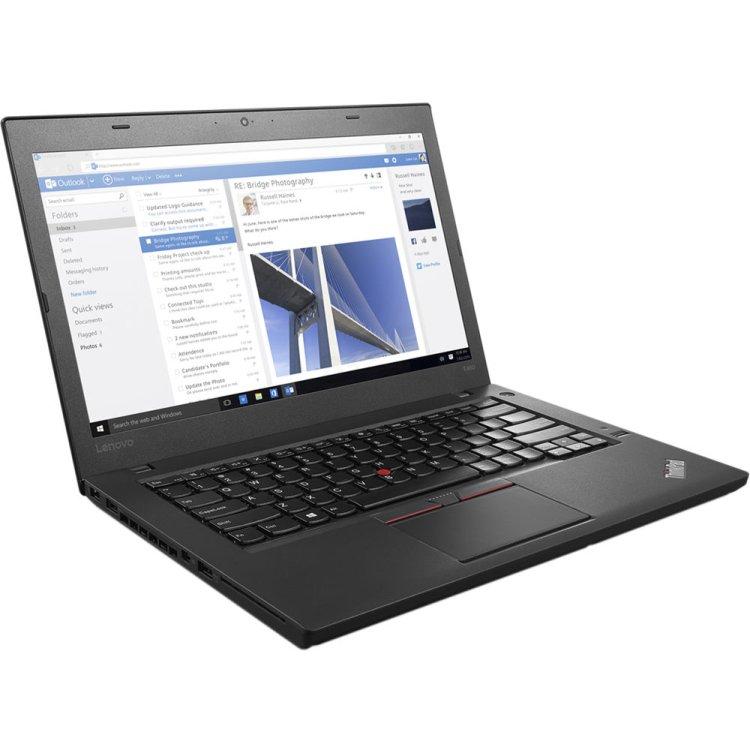 "Lenovo ThinkPad T460 20FN003LRT 14"", Intel Core i5, 2300МГц, 8Гб RAM, 256Гб, Windows 10, Windows 7, Черный, Wi-Fi, Bluetooth"