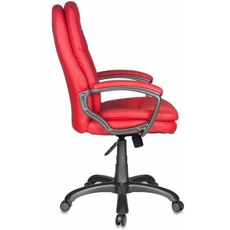 Кресло руководителя Бюрократ CH-868AXSN/Red сиденье красный искусственная кожа пластик темно-серый