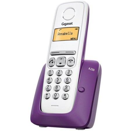 Gigaset A230 Фиолетовый, Дисплей, 6, 4