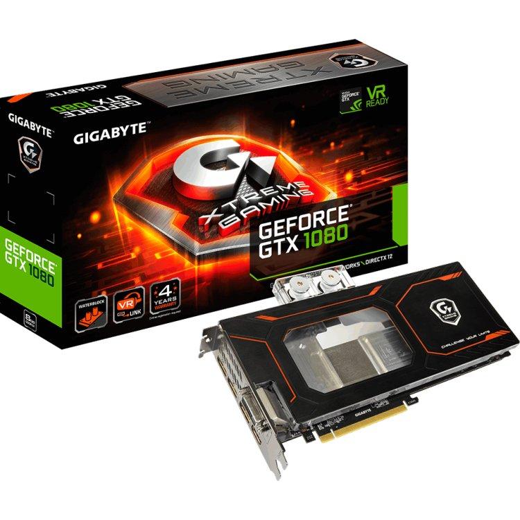Gigabyte GeForce GTX 1080 Xtreme Gaming WATERFORCE WB 8G