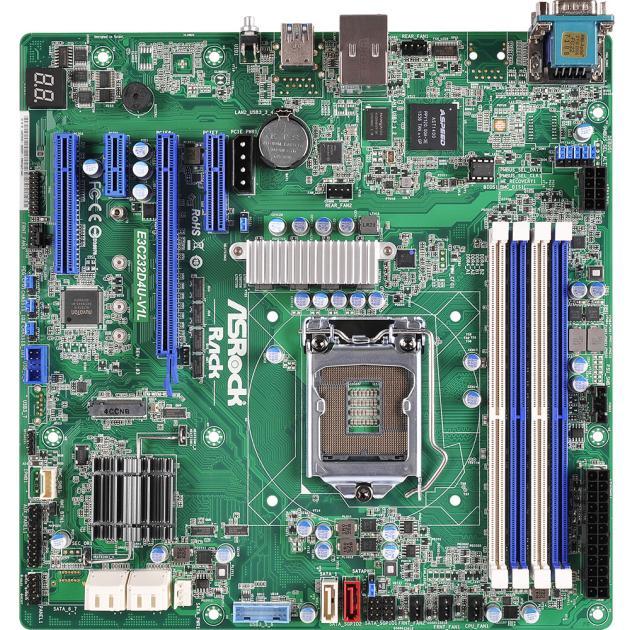 Asrock E3C232D4U-V1L mATXМатеринские платы<br>Формат материнской платы mATX , Производитель процессора Intel , Контроллер SATA, Тип памяти DDR4 DIMM , Название чипсета Intel C232 , Максимальная внутренняя память 64...<br><br>Артикул: 1274765<br>Специальные предложения: Новинка<br>Производитель: Asrock<br>Формат материнской платы: mATX<br>Название чипсета: Intel C232<br>Тип памяти: DDR4 DIMM<br>Максимальная внутренняя память: 64<br>Производитель процессора: Intel<br>Контроллер SATA: Да