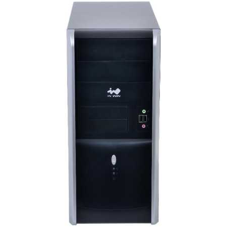 IN WIN Midi Tower InWin EAR007 Black/Silver 450W 2*USB 3.0+Audio ATX черно-серебристый