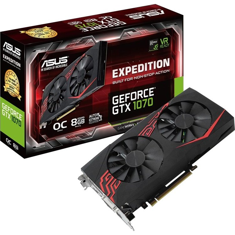 ASUS NVIDIA GeForce GTX 1070 Expedition