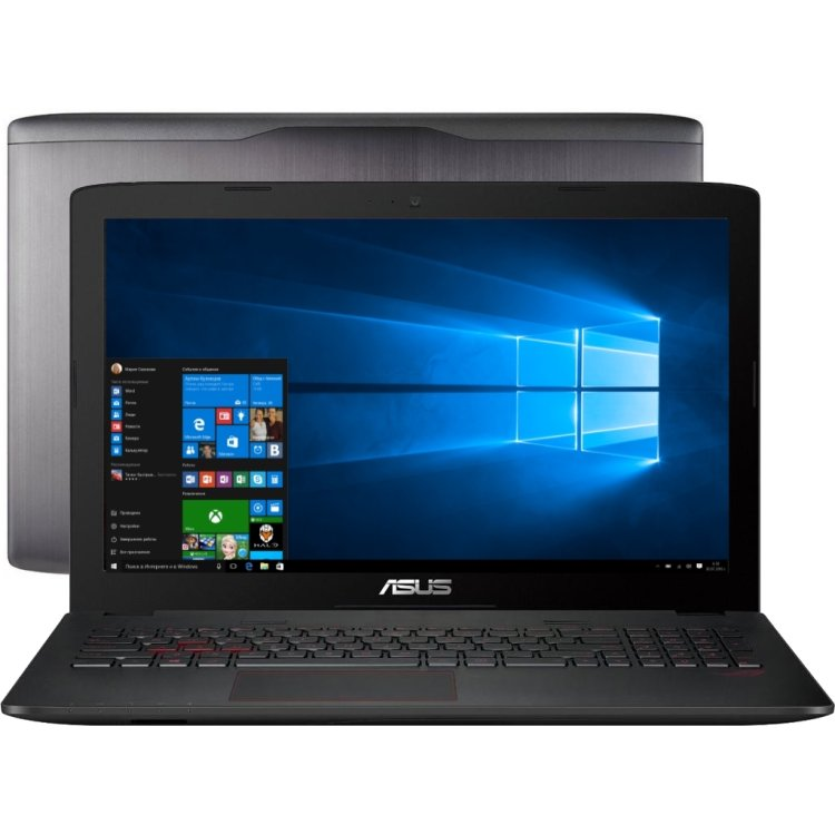 "Asus Rog GL552VW-CN893T 15.6"", Intel Core i7, 2600МГц, 12Гб RAM, 1000Гб, Windows 10 Домашняя"