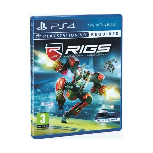 RIGS: Mechanized Combat League Русский язык, Sony PlayStation 4, боевик