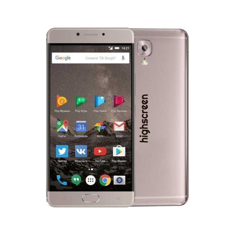 Highscreen Power Five Max 64Гб, Медный, Dual SIM, 4G LTE, 3G