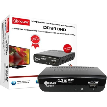 D-Color DC910HD Черный