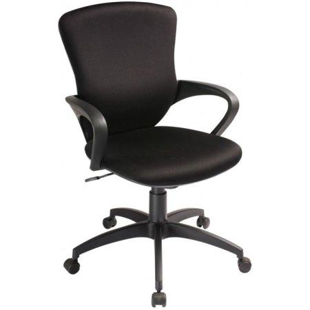 Кресло Бюрократ CH-818AXSN-Low/15-21 низкая спинка черный 15-21