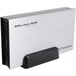 Внешний корпус для HDD Thermaltake Muse 5G ST0042Е SATA III пластик/алюминий серебристый 3.5""