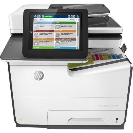 HP PageWide Enterprise 586f Лазерный \ светодиодный, Белый, Цветная, А4