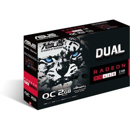 ASUS Dual RX 460 DUAL-RX460-O2G