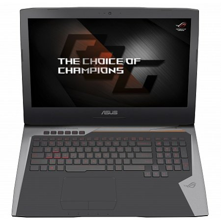 "Asus ROG G752VM 17.3"", Intel Core i7, 2600МГц, 24576 Мб RAM, DVD-RW, 1256Гб, Серебристый, Wi-Fi, Windows 10, Bluetooth"