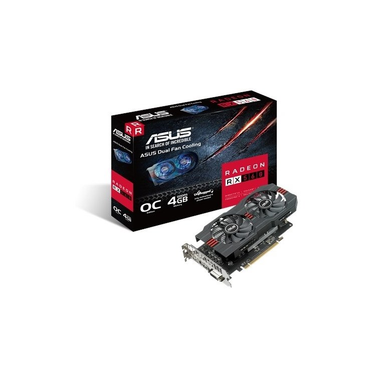 Asus AMD Radeon RX 560 O4G