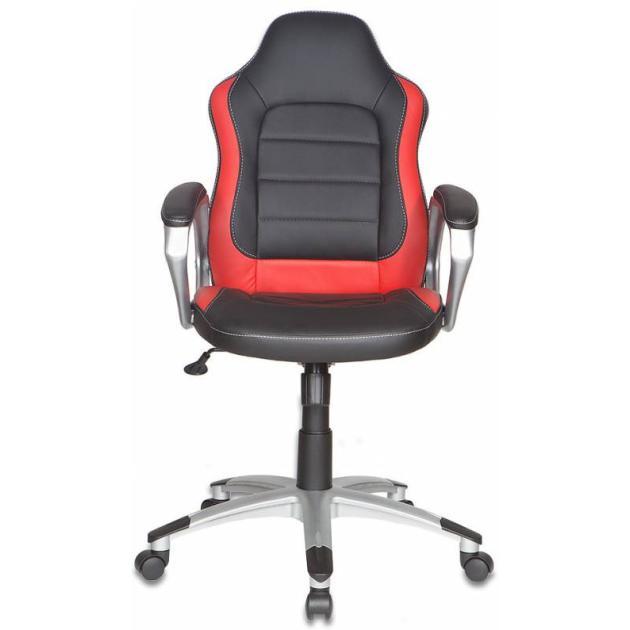 Кресло руководителя Бюрократ CH-825S/Black+Rd вставки красный сиденье черный искусственная кожа пластик сереброКомпьютерные кресла<br>Цвет обивки черный<br>Ограничение по весу 120<br>Регулировка высоты (газлифт) Да<br>Тип Кресло руководителя<br>PartNumber/Артикул Производителя CH-825S/Black+Rd<br>Цвет (пластик) серебро<br>Материал обивки искусственная кожа<br>Модель CH-825S<br>Особенности/доп.информация вставки<br>Особенности модели вставки<br>Цвет (спинка) красный<br>Цвет (сиденье) черный<br>Крестовина пластиковая...<br>