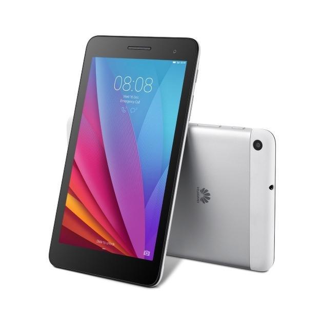 """Huawei MediaPad T1, 7"""", 16Gb, WI-Fi+3G Wi-Fi и 3G, Стальной, Wi-Fi, 16Гб"""