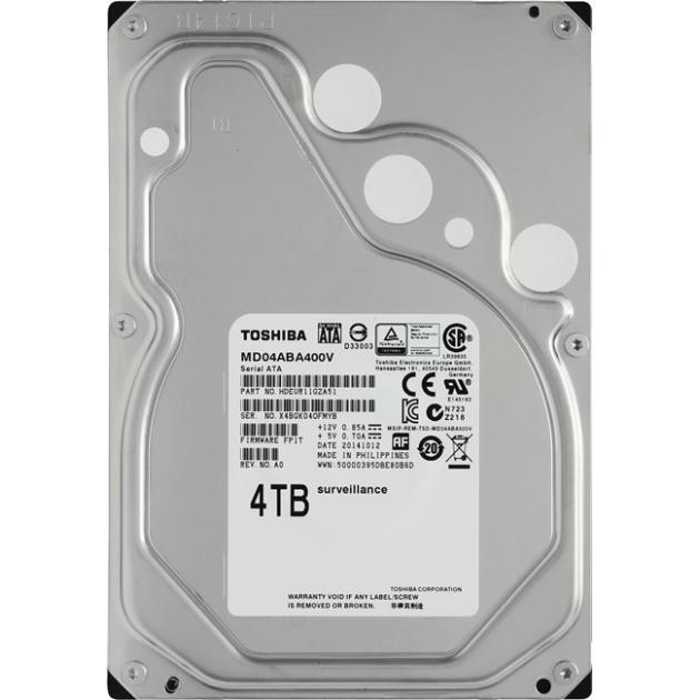 """Toshiba MD04ABA400V 4000Гб, 150, 3.5"""" HDD"""