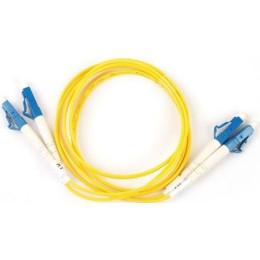 Оптический коммутационный переходной шнур (патч-корд), для одномодового кабеля (SM), 9/125 (OS2), LC/UPC-SC/UPC, одинарного исполнения (Simplex), LSZH, 2м