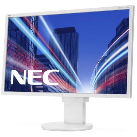 "NEC MultiSync EA274WMi 27"", Белый, DVI, HDMI, Full HD"