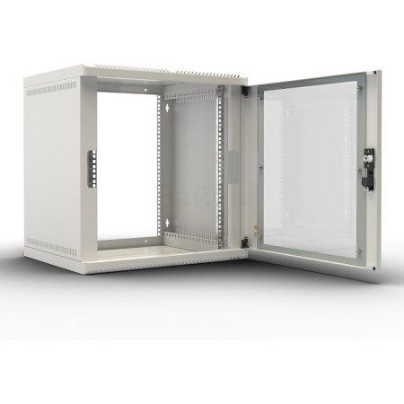 ЦМО Шкаф телекоммуникационный настенный разборный 15U (600х520) дверь стекло, [ ШРН-М-15.500 ]