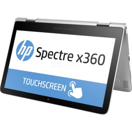"HP Spectre 13x360 13-4105ur 13.3"", Intel Core i7, 2500МГц, 8Гб RAM, 512Гб, Серебристый, Wi-Fi, Windows 10, Bluetooth"