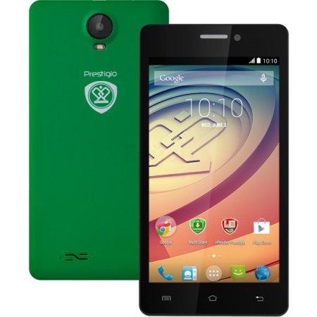 Prestigio Wize K3 4Гб, Зеленый, Dual SIM, 3G