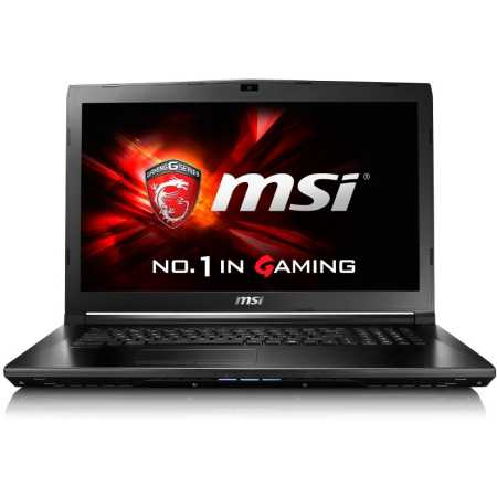"""MSI GL72 6QC-054XRU 17.3"""", Intel Core i5, 2300МГц, 4Гб RAM, DVD-RW, 512Гб, DOS, Черный, Wi-Fi, Bluetooth"""