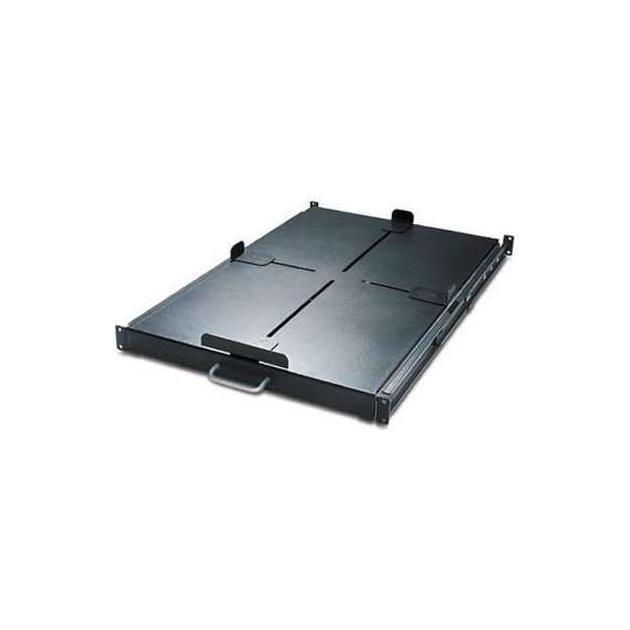 APC by Schneider Electric Sliding Shelf - 200lbs/91kg Black