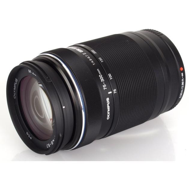 Olympus M.Zuiko Digital ED 75-300mm f/4.8-6.7 II Телеобъектив, Micro 4/3 Телеобъектив, Micro 4/3