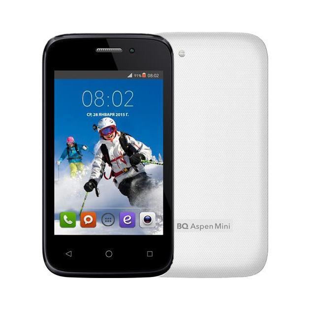 BQ BQS-3510 Aspen Mini 0.512Гб, Белый