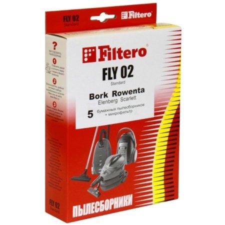 Пылесборники Filtero FLY 02 Standard двухслойные (5пылесбор.) (1фильт.)