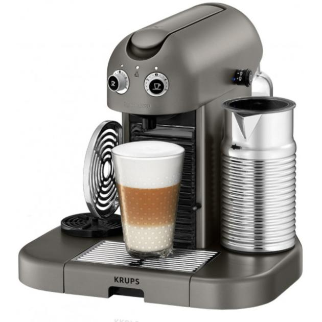 Krups Nespresso XN810510 Серый, капсулы, 1.4л, 1200Вт