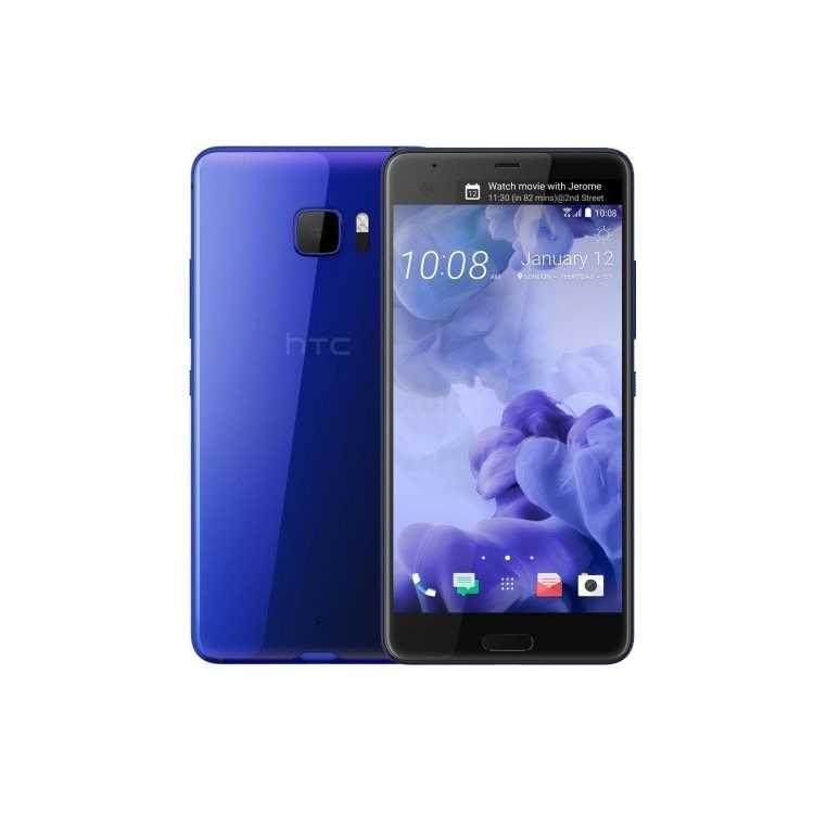 HTC U Ultra 64Гб, Синий, Dual SIM, 4G LTE, 3G