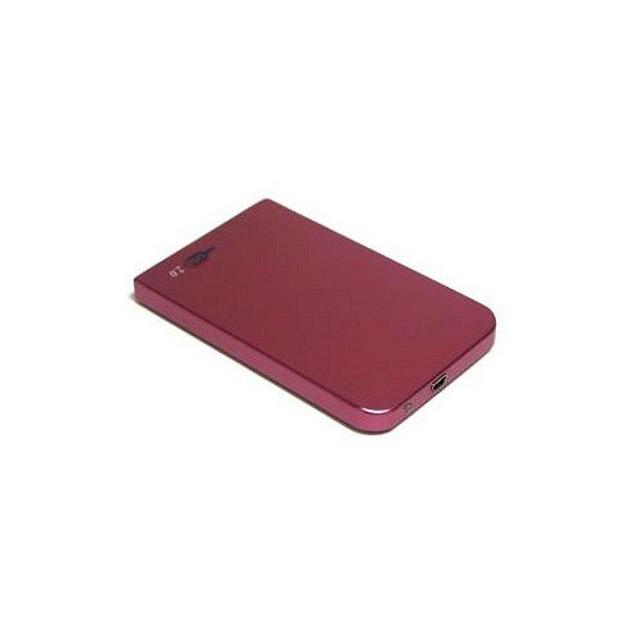 "Внешний корпус для HDD AgeStar 3UB2O1 SATA II алюминий красный 2.5"""