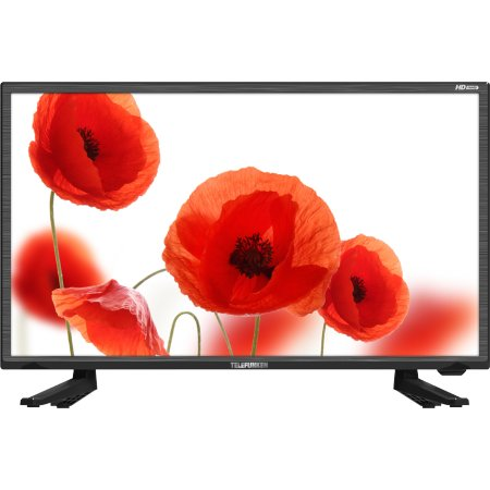 "Telefunken TF-LED24S14Т2 23.6"", Черный, 1366x768, без Wi-Fi, Вход HDMI"