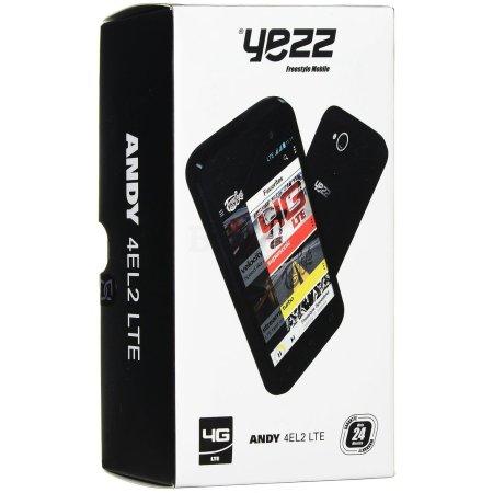 YEZZ ANDY 4EL2 LTE 8Гб, Черный, Dual SIM, 4G (LTE), 3G