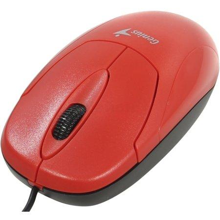 Genius Xscroll PS/2 Красный, USB
