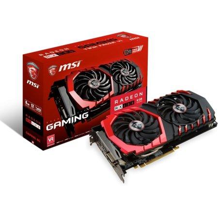 MSI Radeon RX 480 GAMING 8G 8142Мб