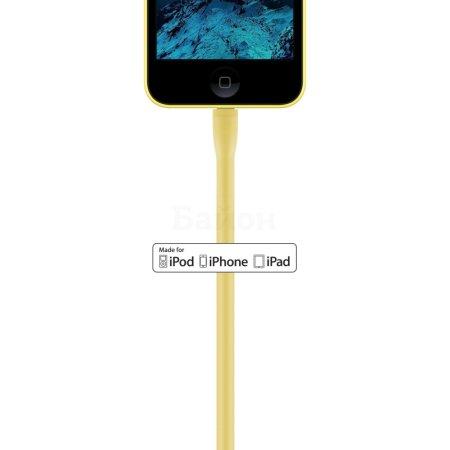 Rombica Digital IG-05 0.35м, Lightning, USB, Желтый