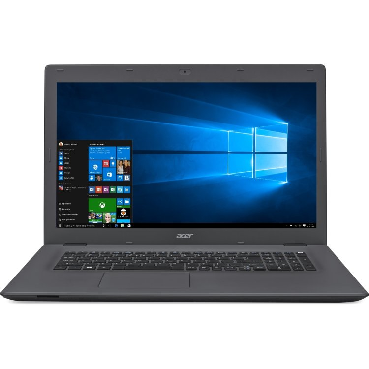 "Acer Aspire E5-772G-32DL 17.3"", Intel Core i3, 2000МГц, 6Гб RAM, DVD-RW, 1Тб, Серый, Wi-Fi, Windows 10, Bluetooth"