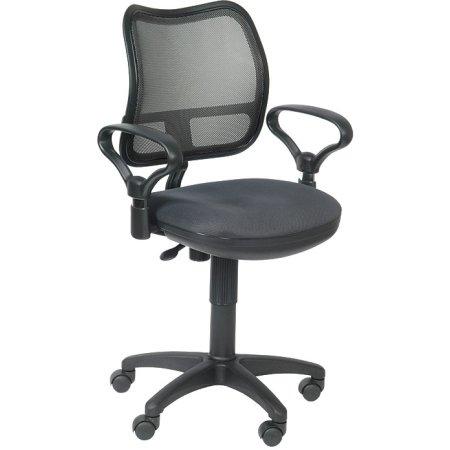 Кресло Бюрократ CH-799/DG/TW-12 спинка сетка темно-серый сиденье серый TW-12