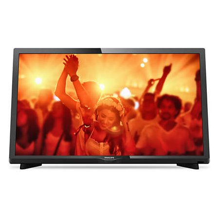"Philips 24PHT4031/60 24"", Черный, 1366x768, без Wi-Fi, Вход HDMI"