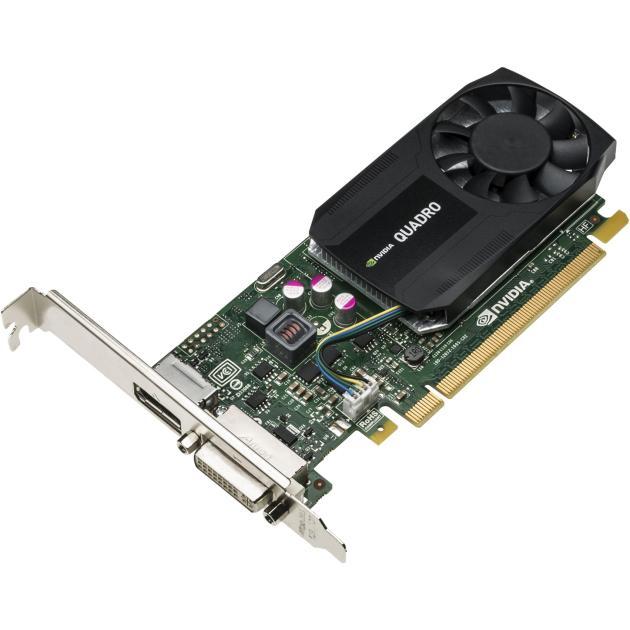 HP nVidia Quadro K620 PCI-E 16x, 2048Мб, PCI-E x16, 1xDisplayPort-> DVI Adapter PCI-E 16x, 2048Мб, GDDR3 J3G87AA