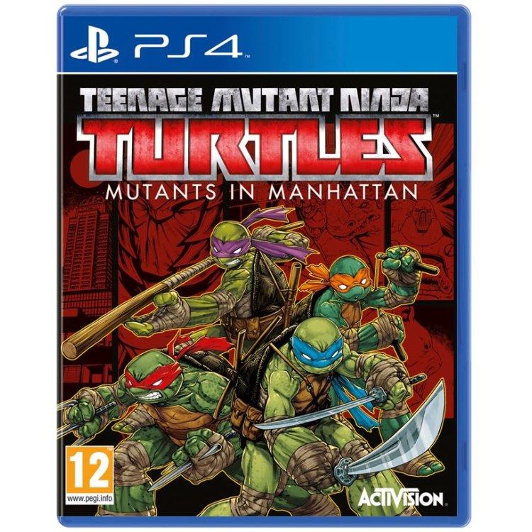 Teenage Mutant Ninja Turtles Mutants in Manhattan Sony PlayStation 4