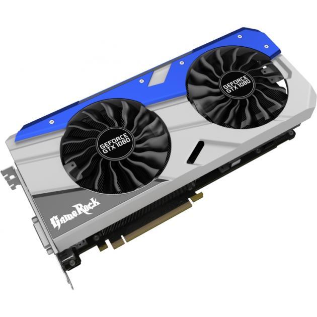 Palit GeForce GTX 1080 GameRock 8192Мб, GDDR5, 1746MHz, PCI-Ex16 3.0 NEB1080T15P2-1040G