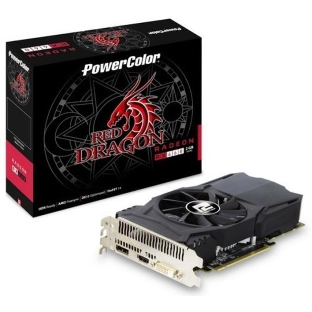 PowerColor AMD Radeon RX 460 AXRX 460 2GBD5-DH/OC