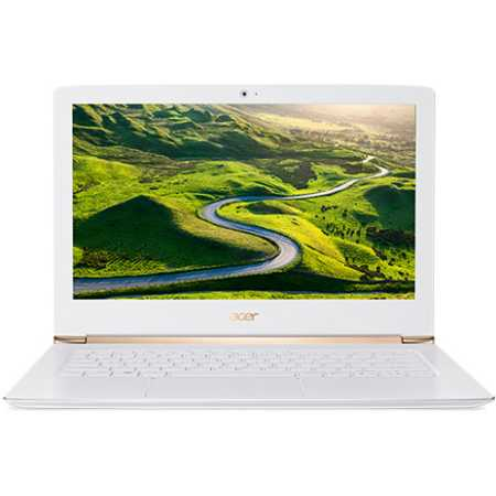 "Acer Aspire S5-371-30PU 13.3"", Intel Core i3, 2300МГц, 8Гб RAM, DVD нет, 128Гб, Белый, Wi-Fi, Linux, Bluetooth"