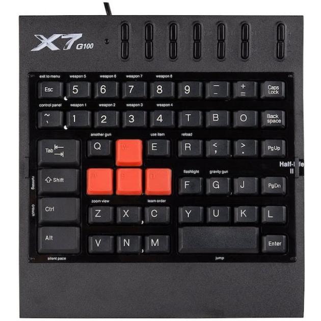 A4 X7-G100 USB, Черный