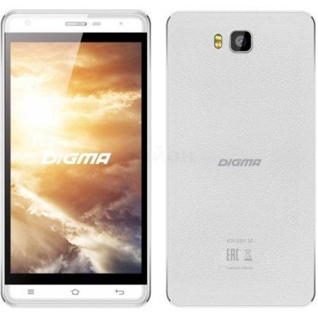 Digma Vox S501 8Гб, Белый, Dual SIM, 4G (LTE), 3G