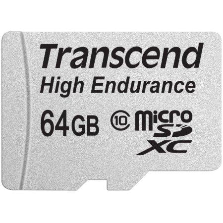 Transcend TS64GUSDXC10V microSDHC, 64Гб, Class 10