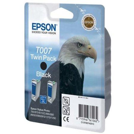 Epson C13T00740210 Черный, Картридж струйный, Стандартная, нет